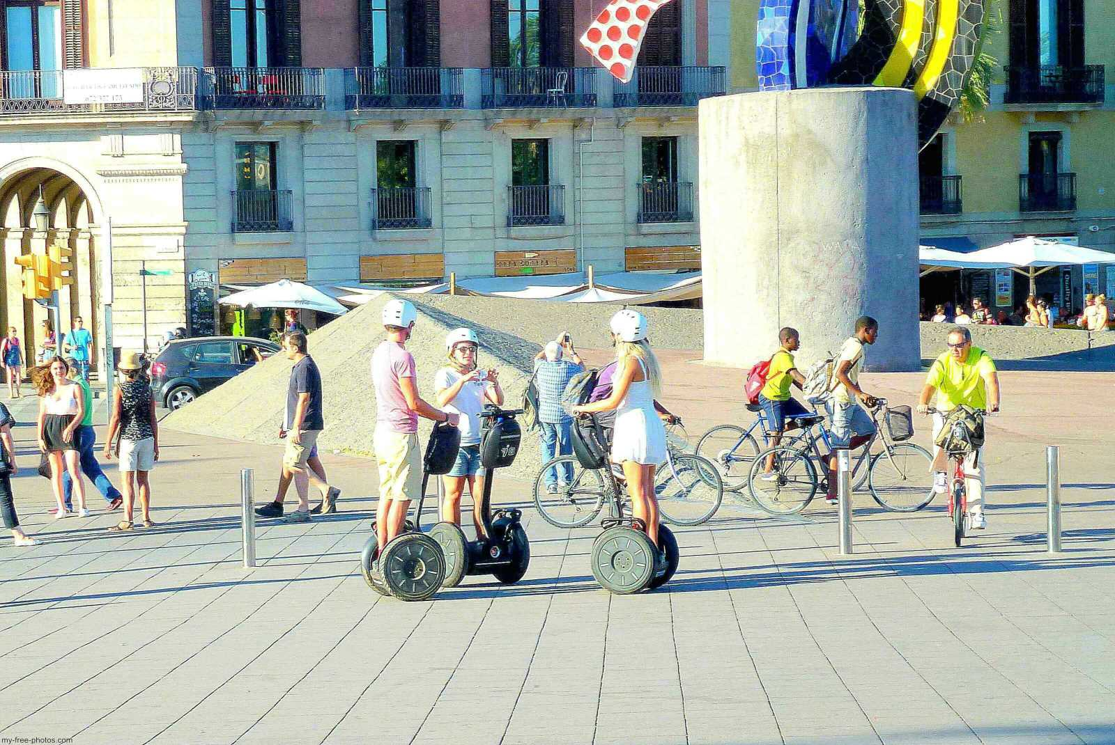 Segway in Barcelona