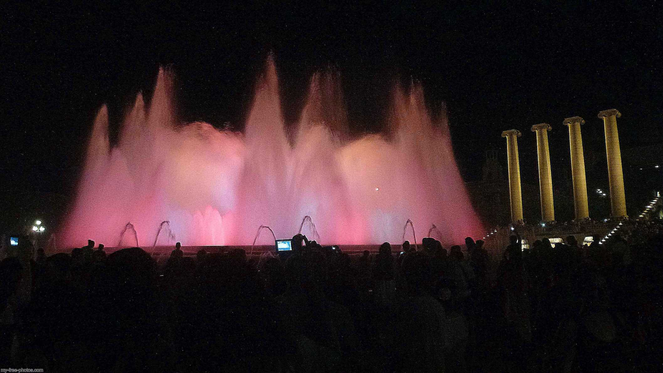 Magic Fountain of Montjuïc,Barcelona