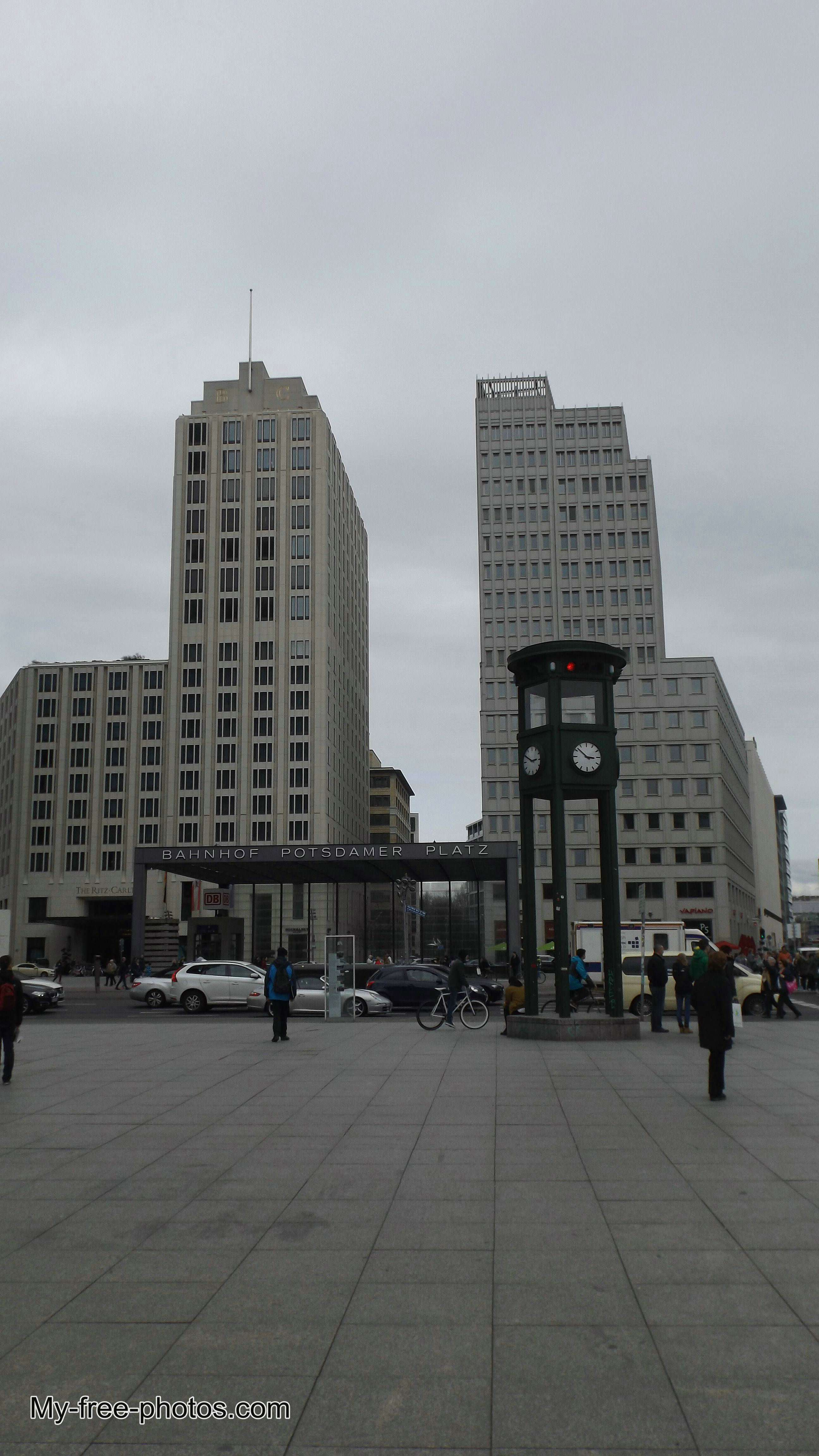 Potsdamer Platz Berlin,germany
