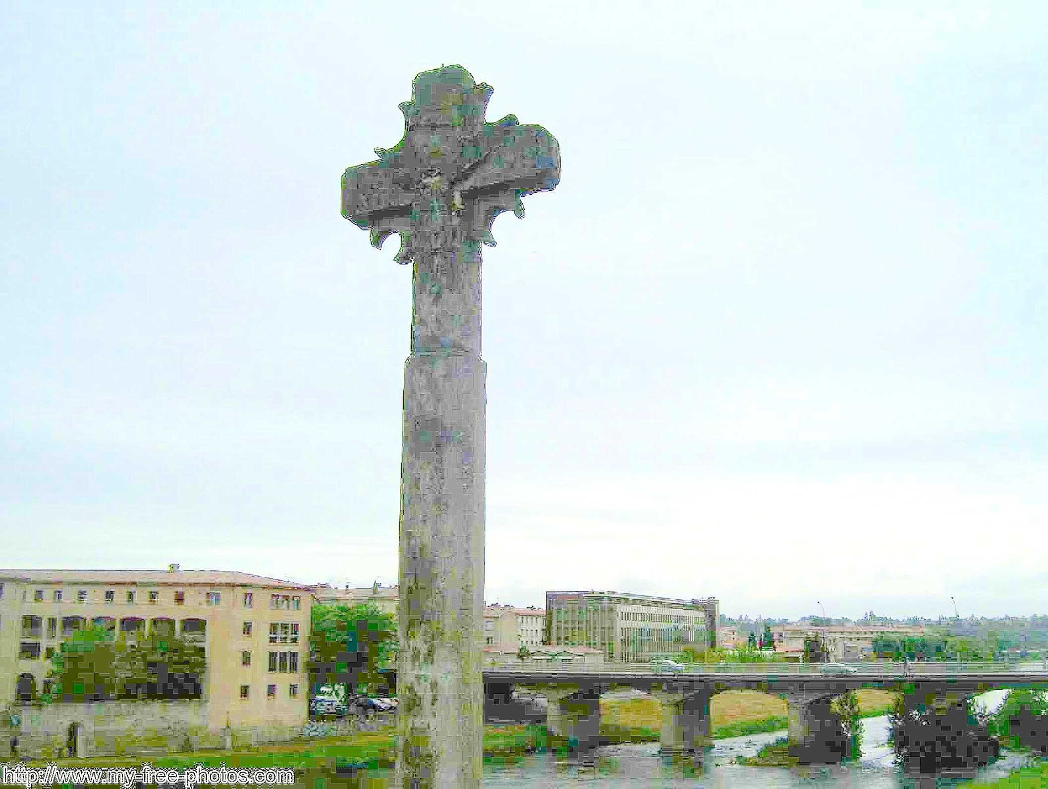 The Cross of Carcassonne, France
