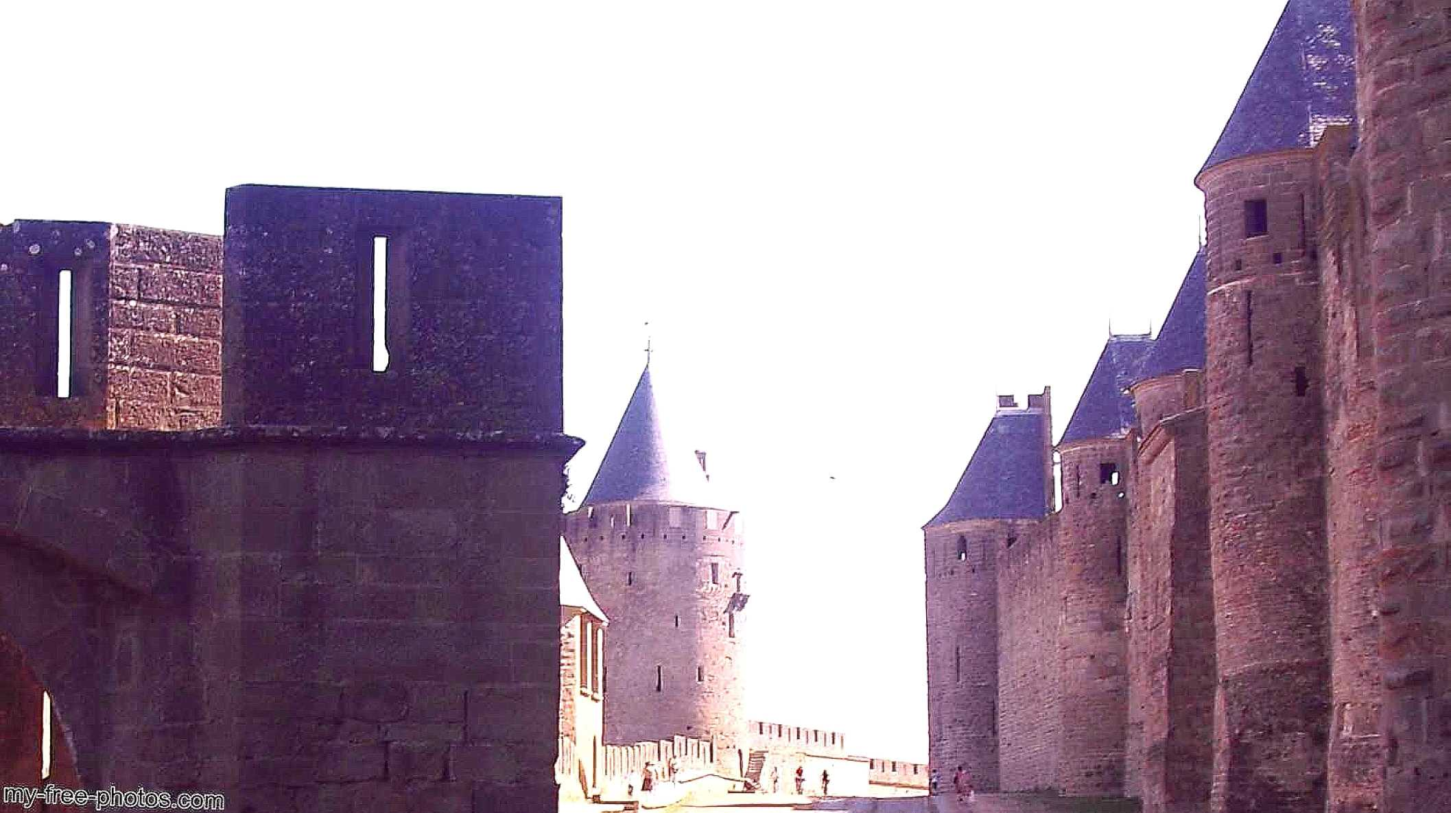 This is Carcassonne, France