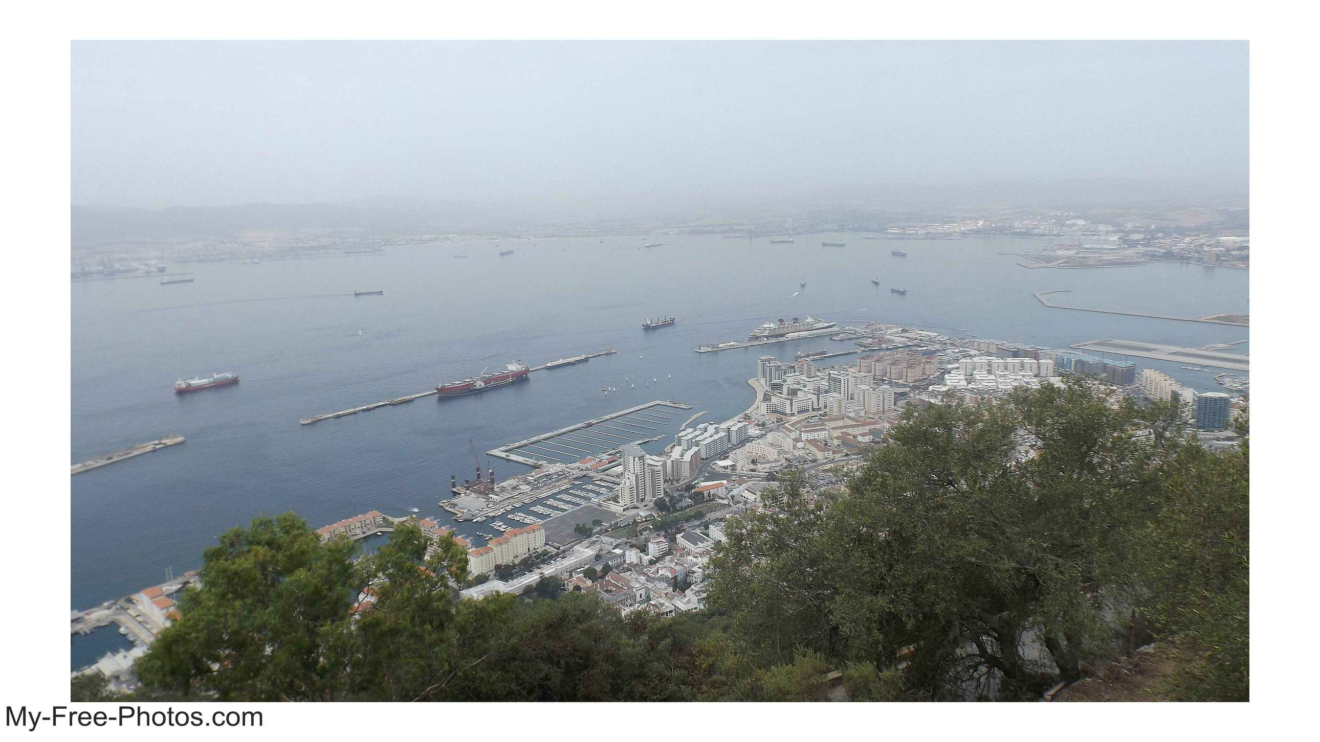 Gibraltar harbor