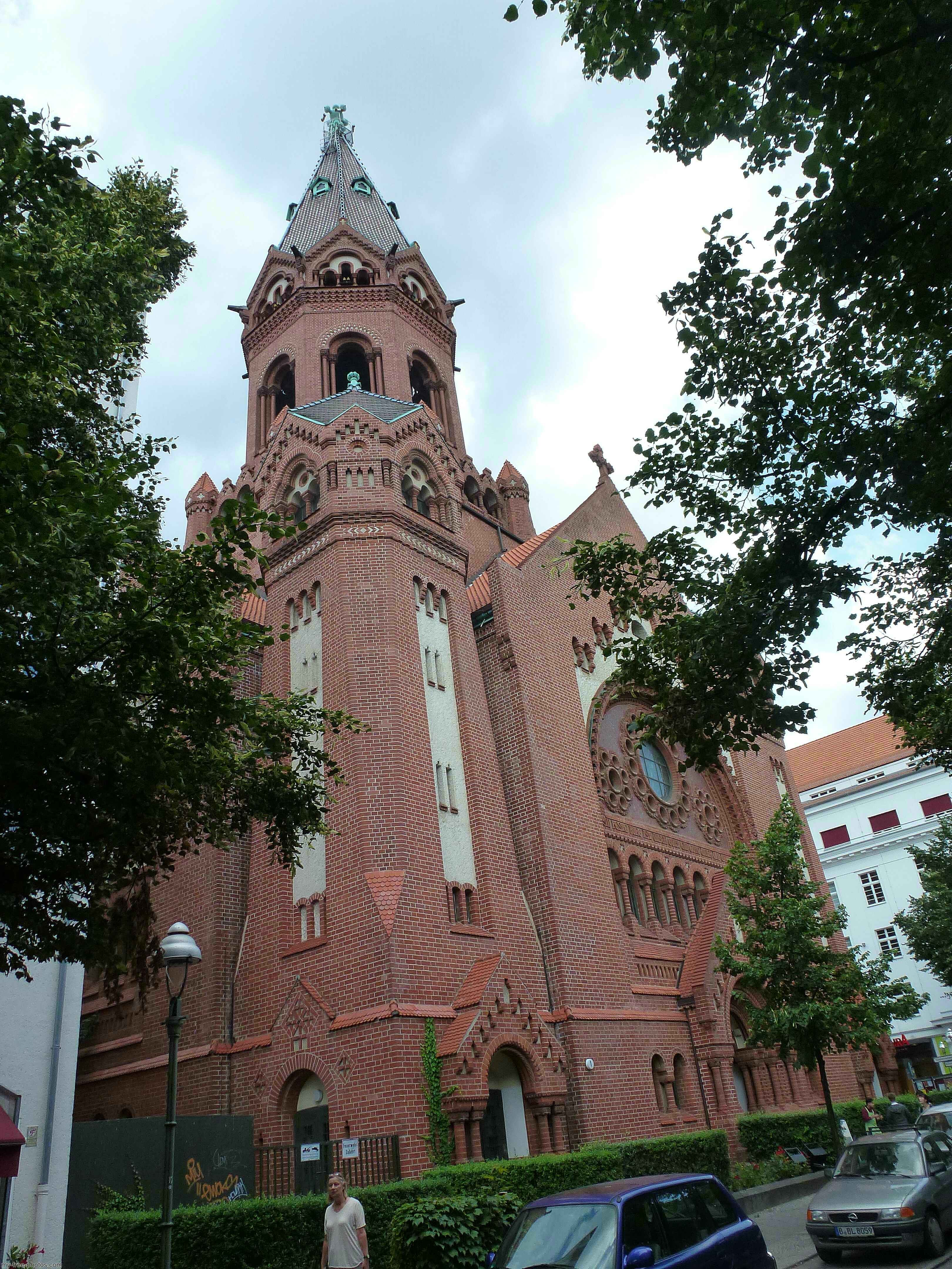 passions church, berlin