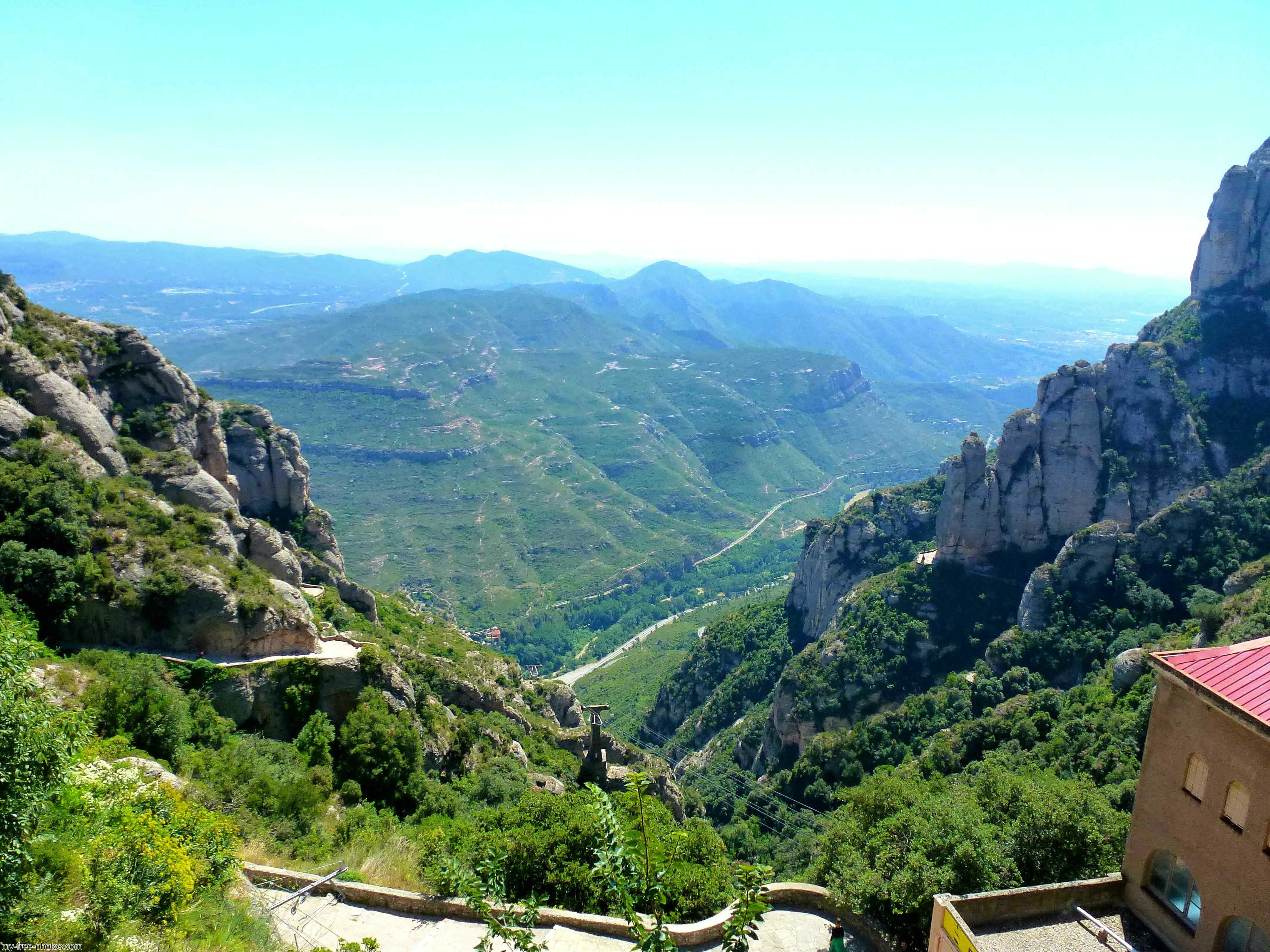 Montserrat, Spain, cable car