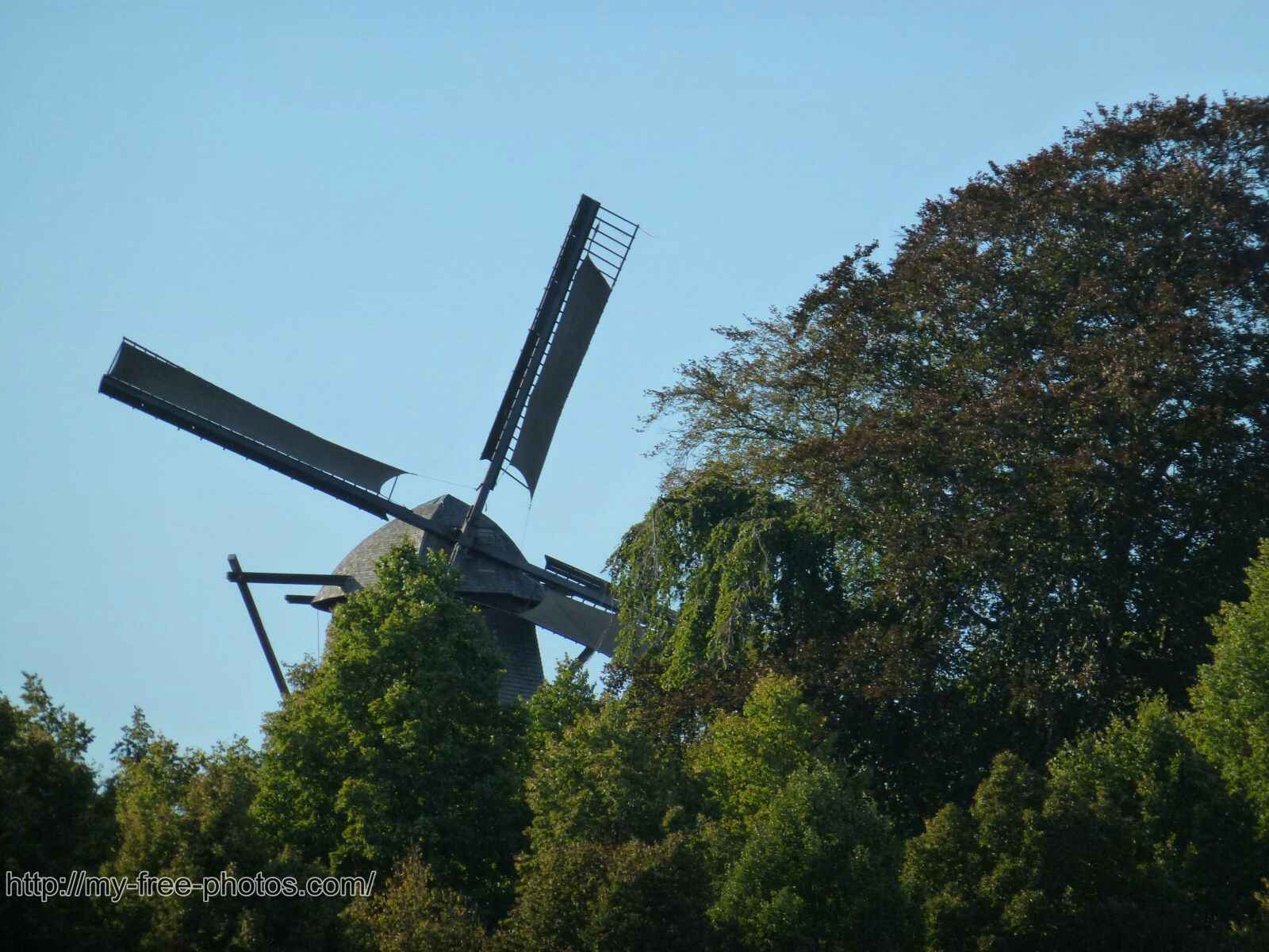 Castle Sanssouci windmill