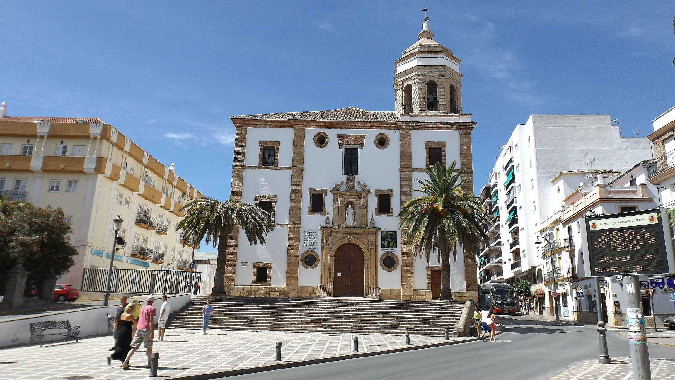 Church of our lady of mercy Round, Ronda, Spain