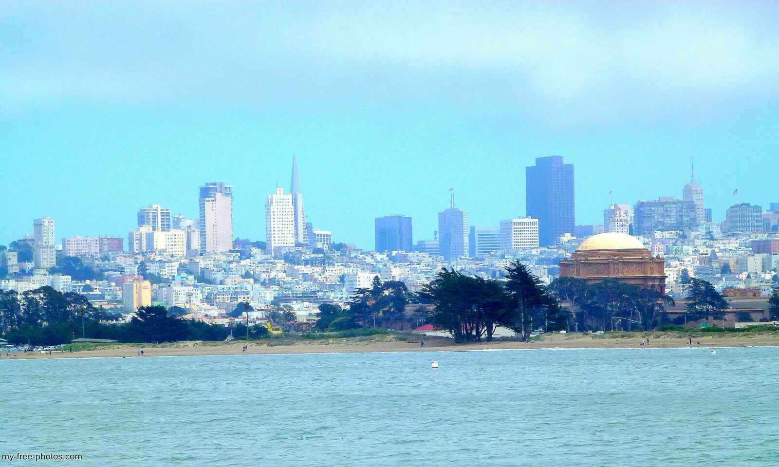 skyline,san francisco
