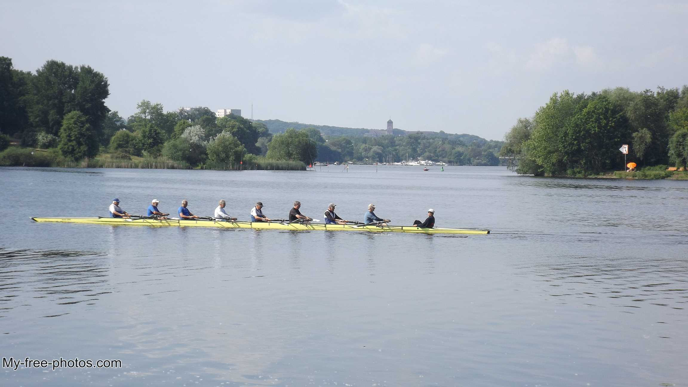 Rowing , potsdam