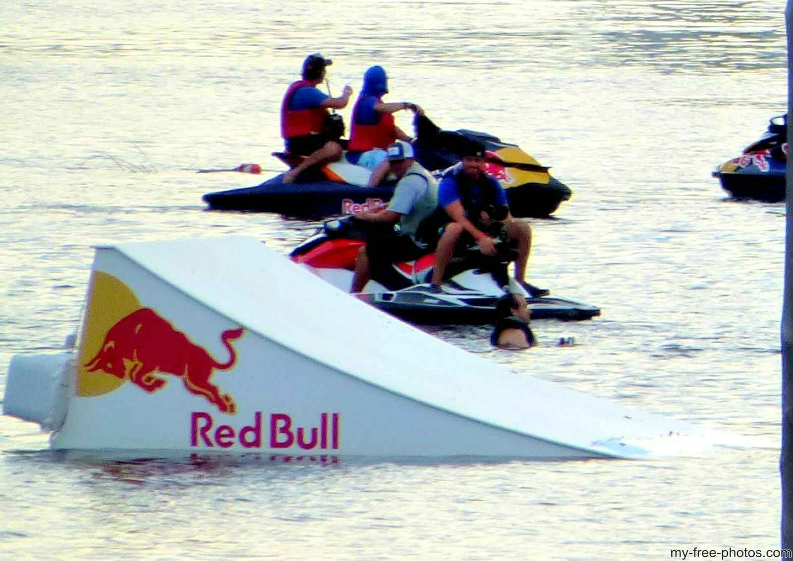 Tampa  Bay red bull race