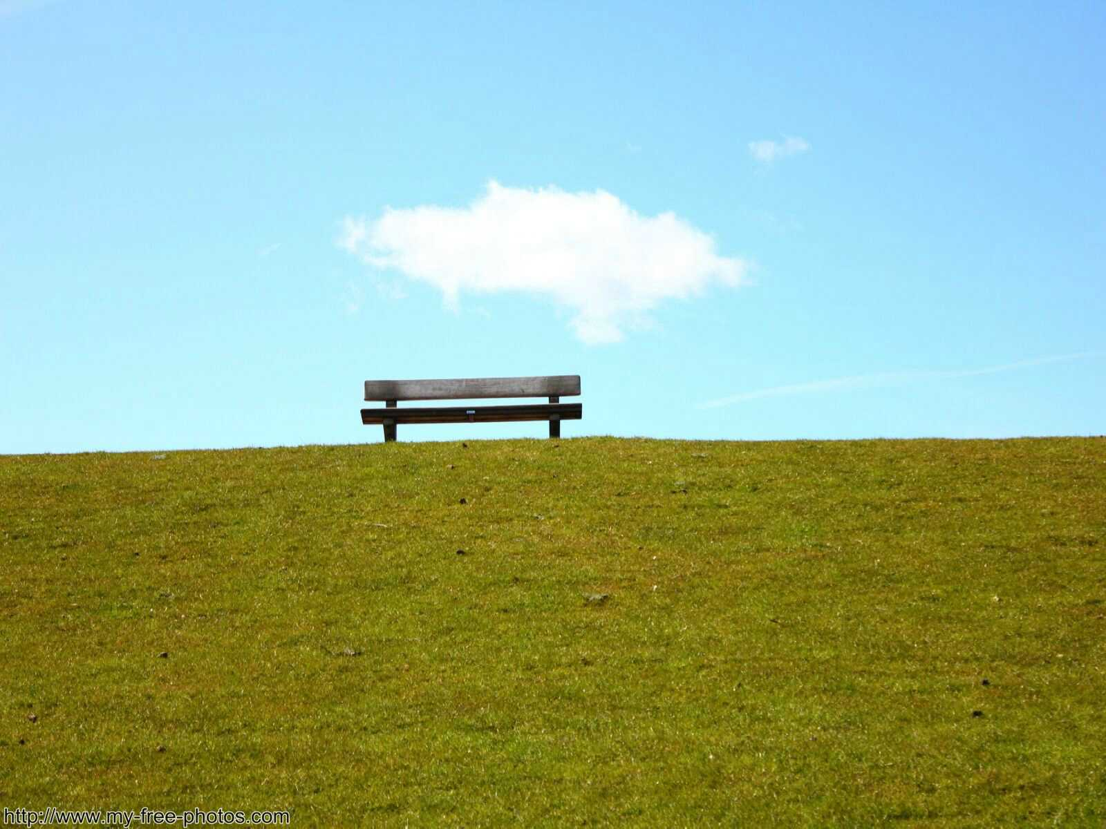 bench on dyke
