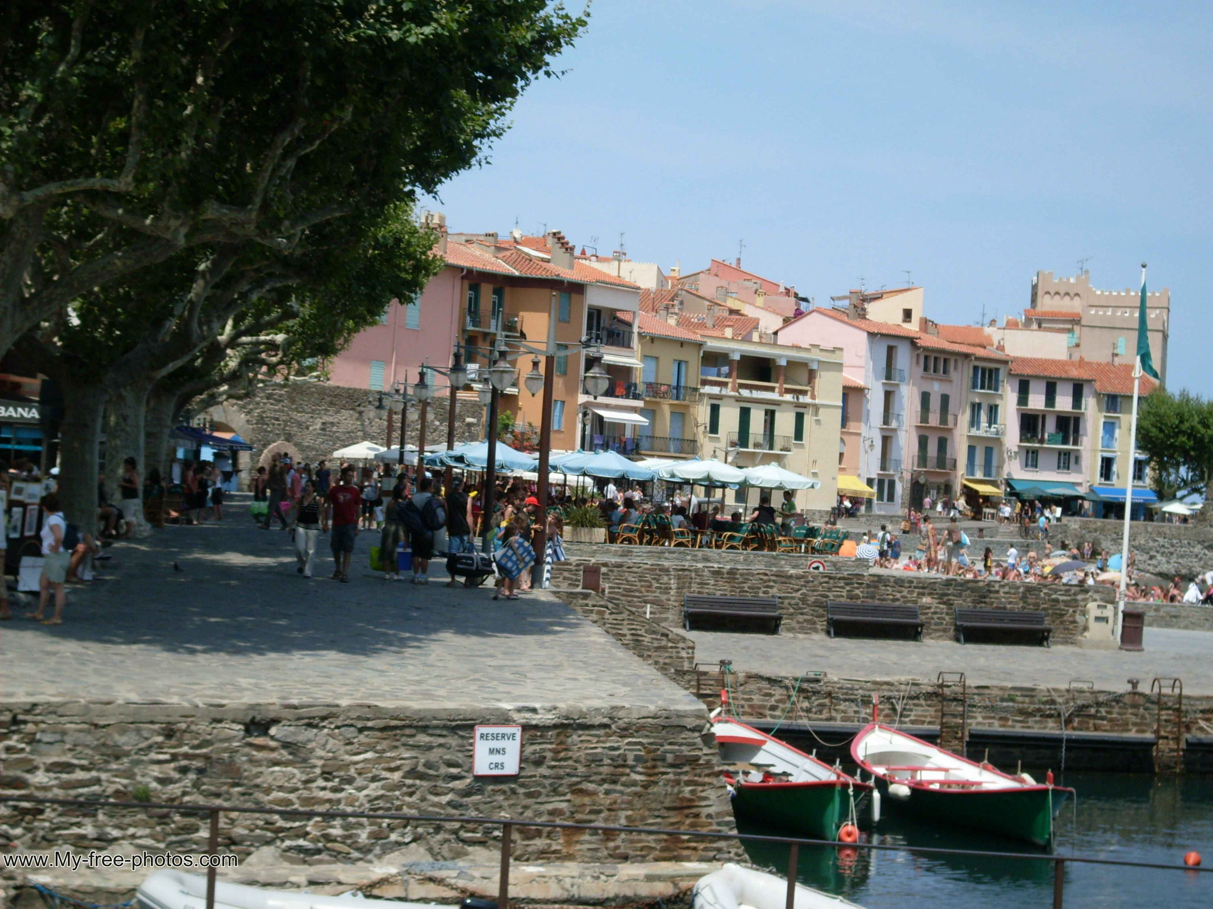 collioure harbor