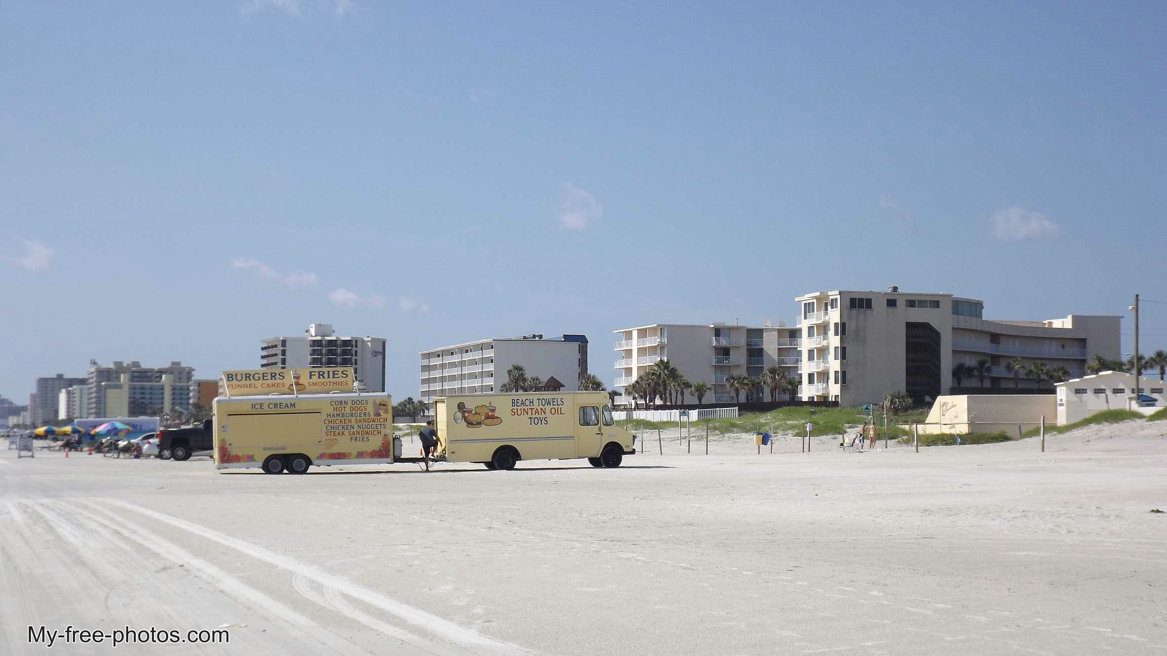 Daytona Beach, food truck