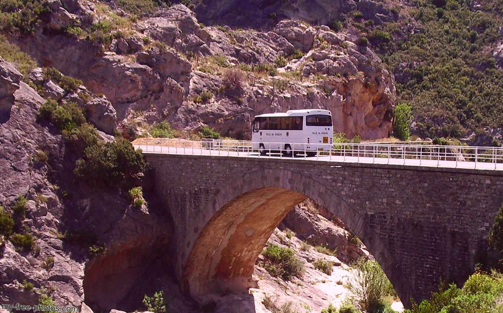 bridge with Bus