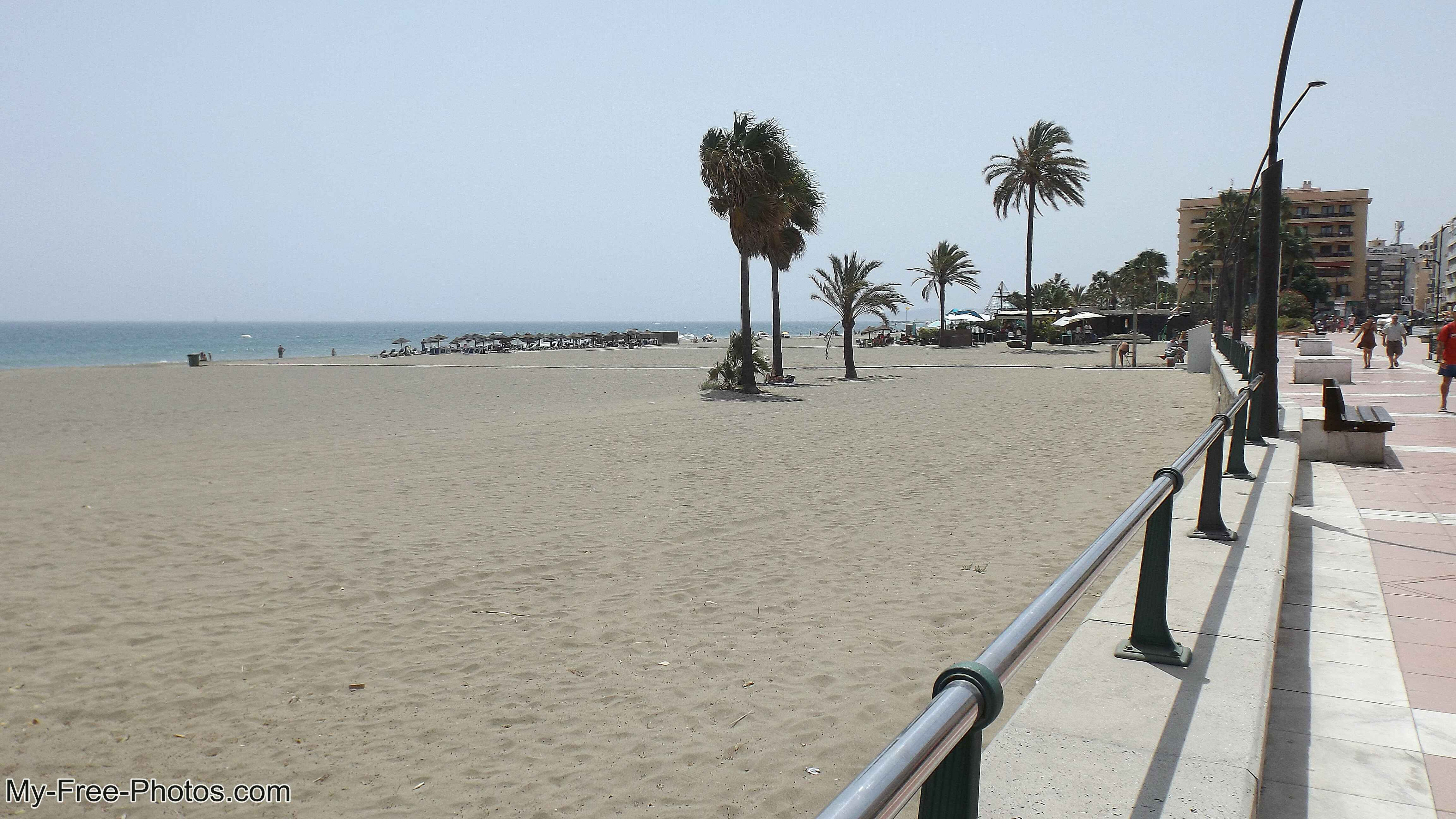Beach,Estepona, Spain
