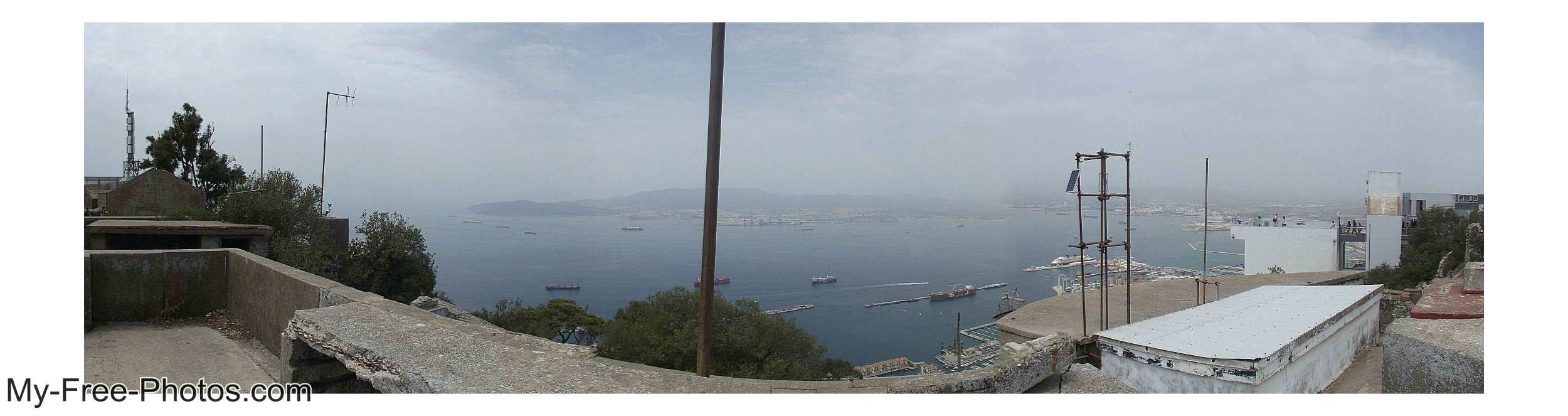 panorama of gibraltar