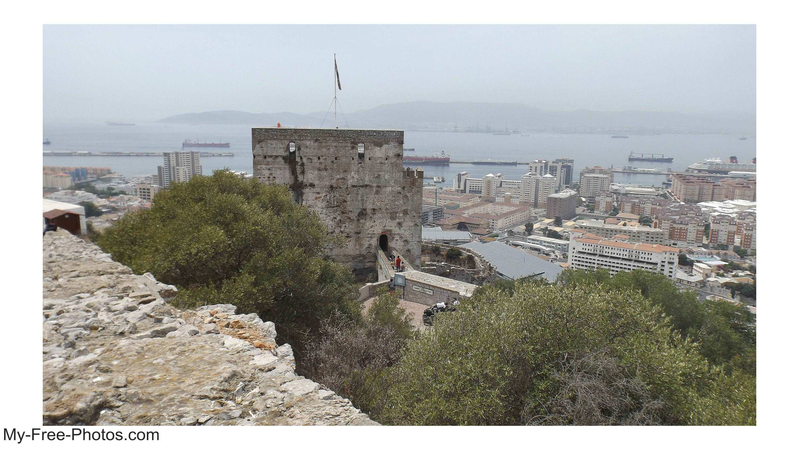 Moorish Castle, gibraltar
