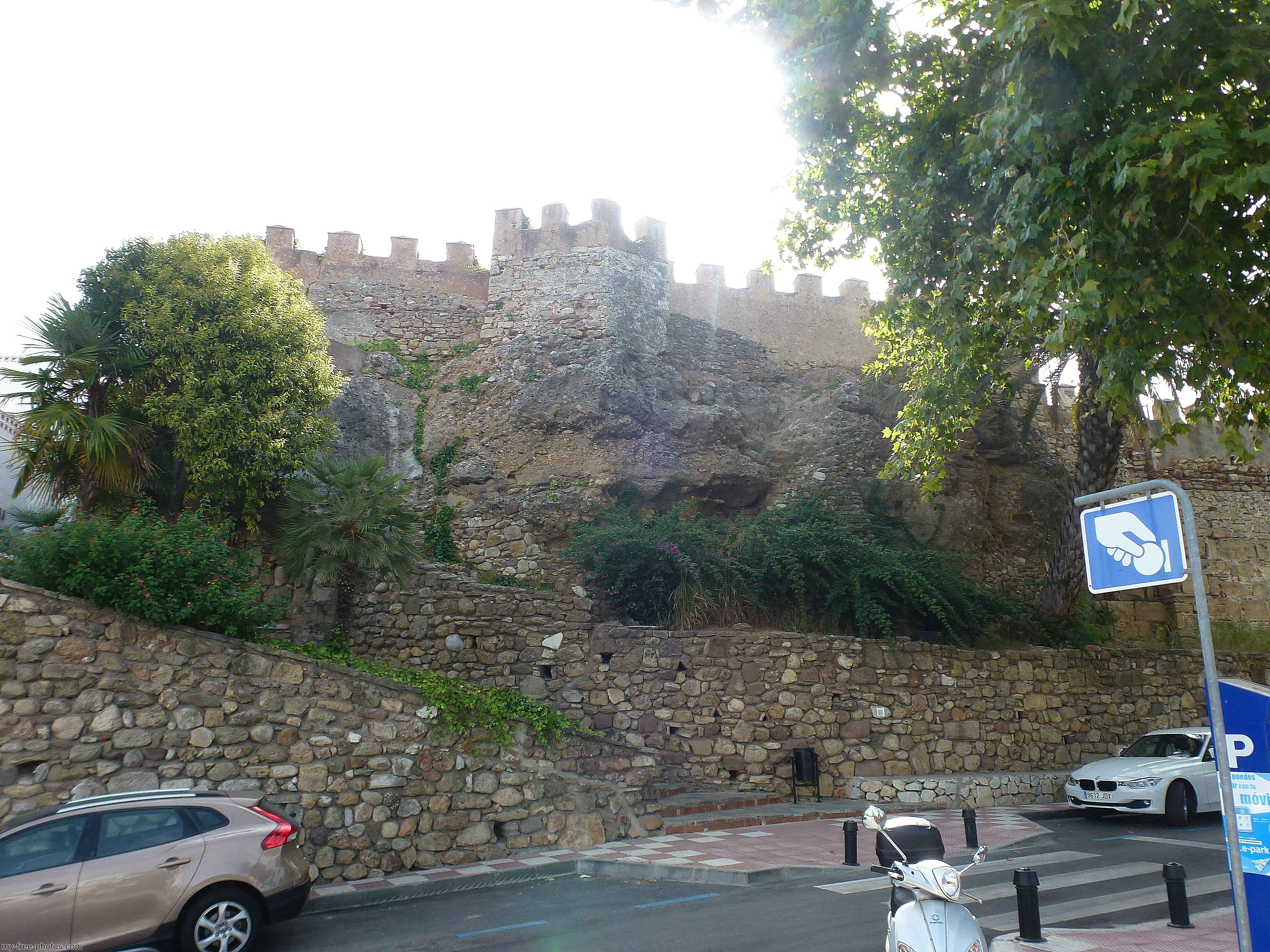 city walls, Marbella