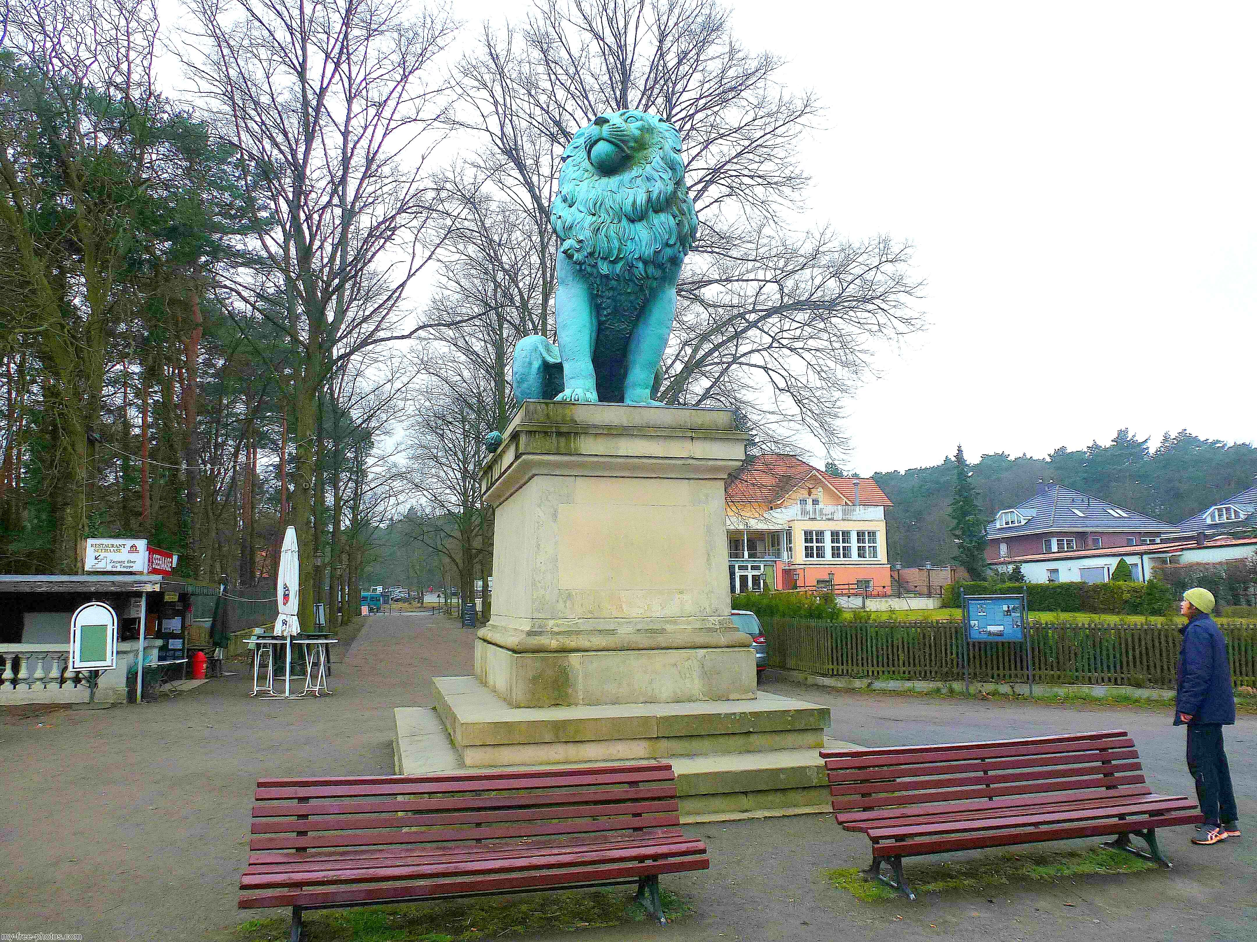 Isted lion, Wannsee
