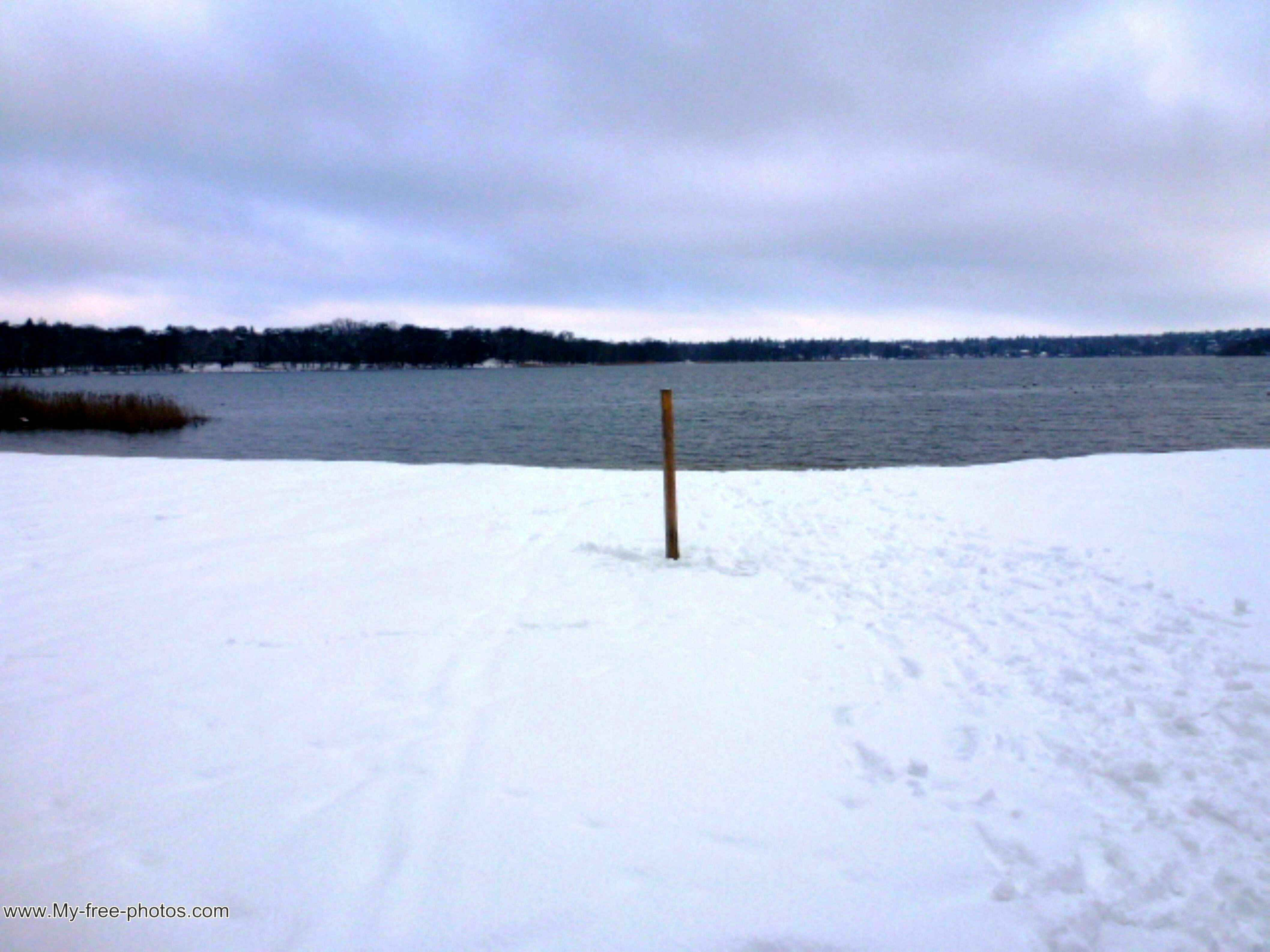Lake Wannsee.